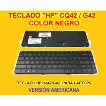 Teclado Hp Compaq Cq42 G42 Negro Us / Versión Americana ***