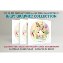 Artes Vectores Serigrafía Estampado Sublimación Bebes