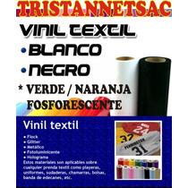 Vinil Textil Pu Fosforescente X Metro- Estampados