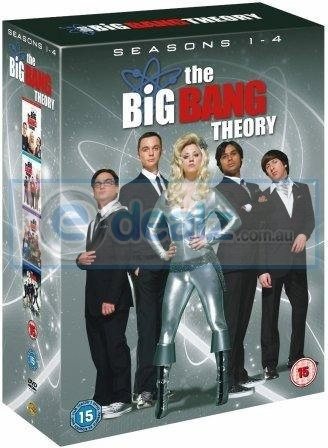 The Big Ban Theory Box Set 4 Temporadas Completas Dvd