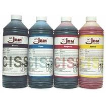 Tinta 1lt Jbm - Para Sistema Continuo Epson ,canon,hp