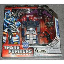 Transformers 2009 Sdcc Figures G1 Universe Soundwave 25th