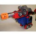 Juguete Transformers Optimus Prime Luces Sonido Hasbro