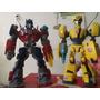 Juguete Coleccion Optimus Prime Y Bumblebee Lote 2 Muñecos
