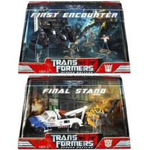 Transformers Movie 1 Battle Scene Barricade Bumblebee