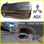 Mitsubishi Asx Tubo De Escape Cromado
