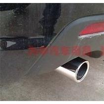 Mazda 3 12 - 13 Tubo De Escape Cromado Circular