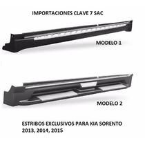 Estribos Sorento 2013 - 2014