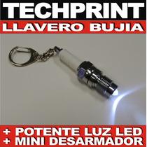 Llavero Tuning Bujia + Luz Led + Herramienta Nissan Toyota