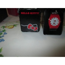 Hermoso Reloj Hello Kitty Importado De Usa Original 100%