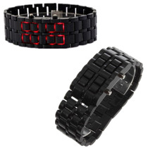 Reloj Digital Led Estilo Lava Samurai Colores 2x50 Soles