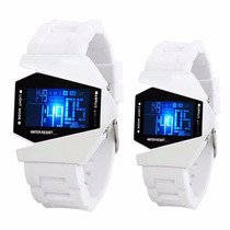 Reloj Negro Led Sport Digital Modelo Avion 2015