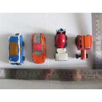 Lote Corgi Juniors X 4 Ford Gt 70 Camper Tractor Mezclador D