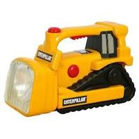 Linterna Catepillar Tractor Luces Y Sonido 1,5 Año +