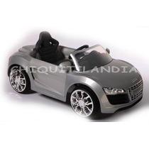Carro Bateria Edición Lujo Audi R8 Spyder Original Infanti