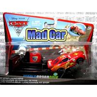 Mc Mad Car Auto Cars 2 Disney Pixar Mc Queen Con Lanzador