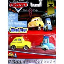 Mc Mad Car Cars Luigi Y Guido Auto Disney Pixar Pack X 2