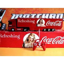 Mc Mad Car Coca Cola Camion 1/24 Luces Sonido Control Remoto