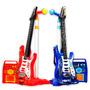 Niños: Guitarra Eléctrica Con Micrófono Karaoke Y Amplificad