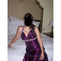 Vendo Vestido De Noche A 60 Soles ,usado.