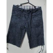 Bermuda Jeans 725 Original Ropa Dama Importada. Talla 27