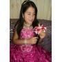 Vestido De 15 Años Quinceañera Fucsia Rosa Modelo Exclusivo