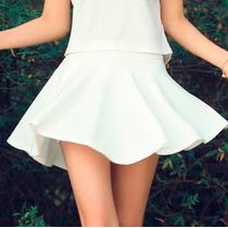 Oix Closet Minifalfa Falda Polo Top Vestido Short