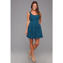 Jack By Bb Dakota Vestido Talla 8 Color: Turquesa Azul