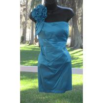 Vestido Importado Fiesta Matrimonio 5 S M Strech Corto Stock
