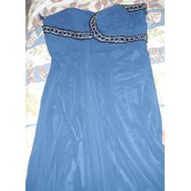 Vestido Largo De Fiesta De Gasa Fina Americana Importado