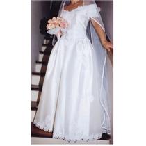 Vestido Novia Ivory Importado Usa