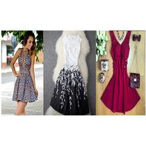 Hermosos Vestidos Con Vuelo Moda 2016 ...stock..