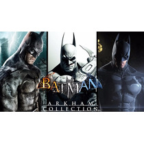 Batman Arkham Origins + Asylum + City Collection - Ps3 Digit