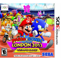 Mario Sonic At The Olympic London Games 2012originalsellado