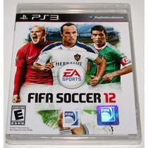 Fifa Soccer 2012 Futbol Ps 3 Play Station 3 Casi Nuevo