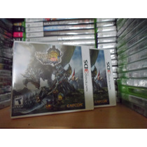 Monster Hunter 3 Ultimate - Nuevo Y Sellado - 3ds