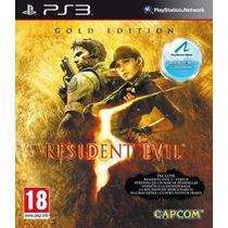Resident Evil 5 Gold Edition Español // Ps3 Digital // S/.29