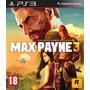 Max Payne 3 Ps3 Español Nuevo Y Sellado Juegos Ps3 Delivery