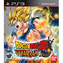 Dragon Ball Ultimate Tenkaichi Español Juegos Ps3 Delivery