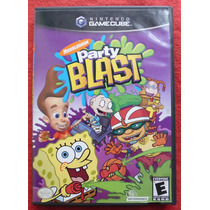 Nickelodeon Party Blast - Gamecube Perfecto Estado