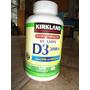 Vitamina D3 2000 Iu Marca Kirkland Contiene 600 Softgels
