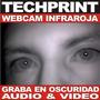 Webcam Espia Vision Nocturna Usb Graba Audio & Video