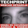 Webcam Espia Vision Nocturna Usb Graba Audio & Video