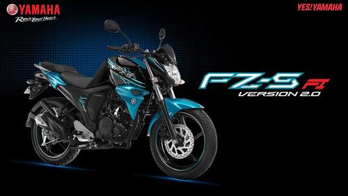 Yamaha Fz S Fi Versión 2.0 2016 Financiada