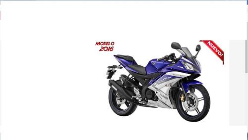 Yamaha R 15 Versión 2.0 Financiada 2016