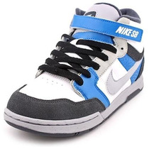 Zapatillas Nike Sb...modelo Mogan Mid Talla 7 Us