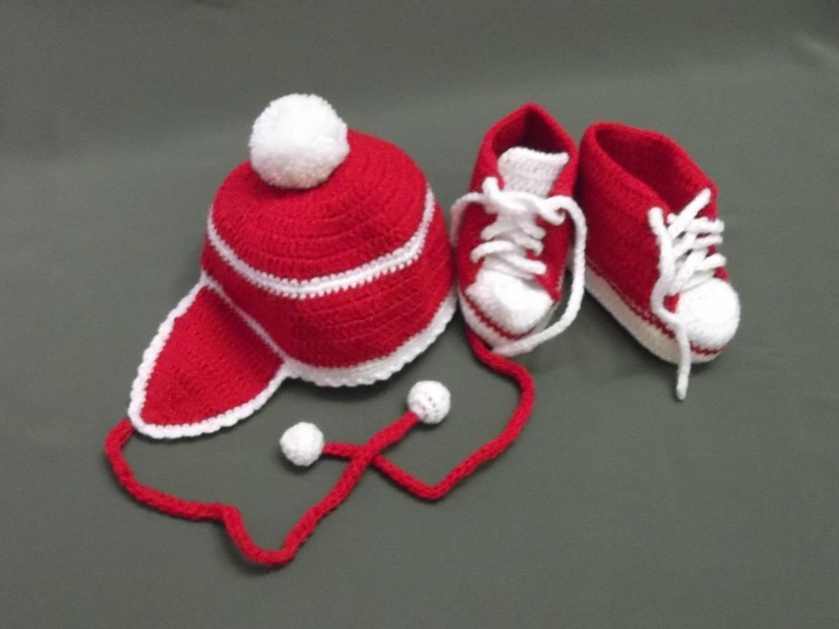 Gorritos tejidos a crochet para bebes mejor conjunto de - Gorritos bebe ganchillo ...