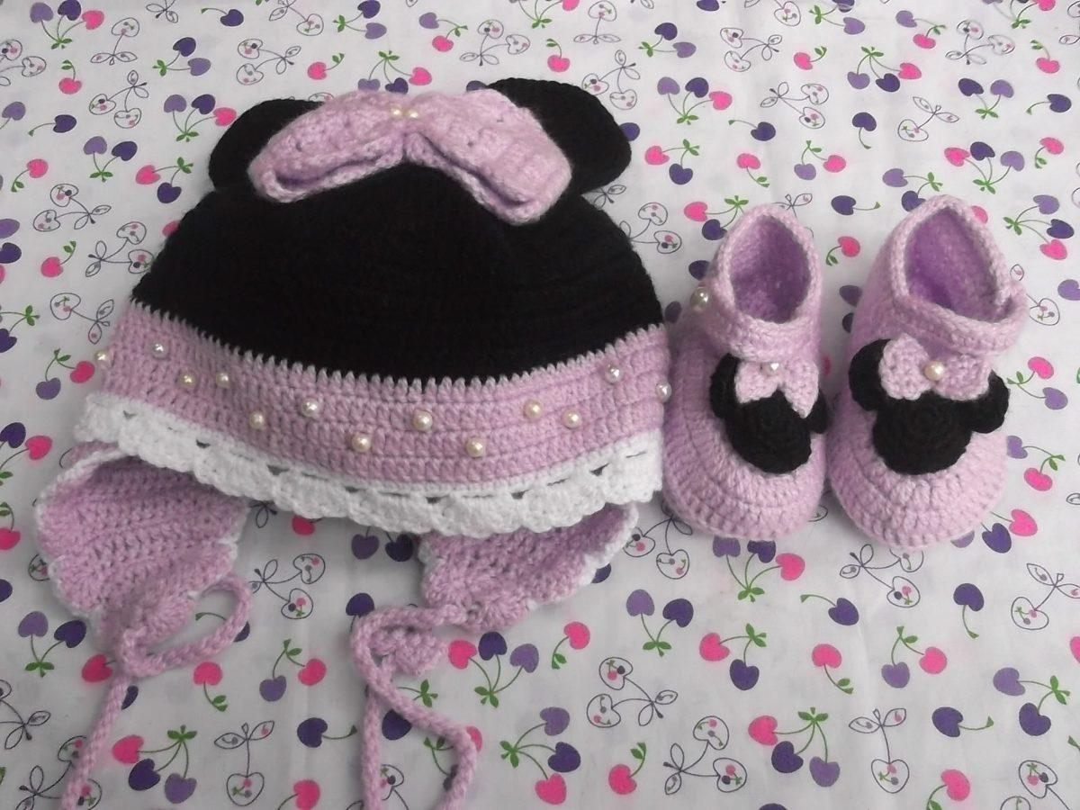 Zapatos tejidos para bebe hechos a mano crochet en for Hecho a mano