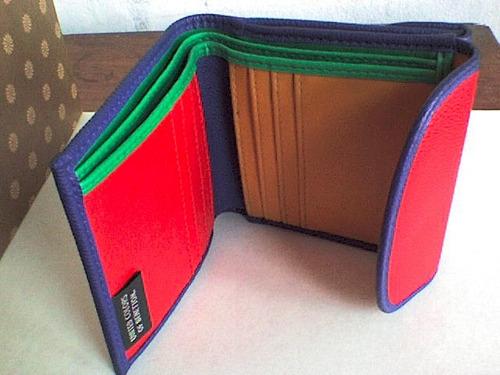 27c597f92 Billetera Benetton Original Exclusivo Unisex Oferta. Precio: S/. 120 Ver en  MercadoLibre