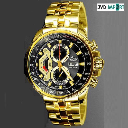 6e107b88ab95 Reloj Casio Edifice Dorado Ef-558fg-1av - 100% Original en venta en ...